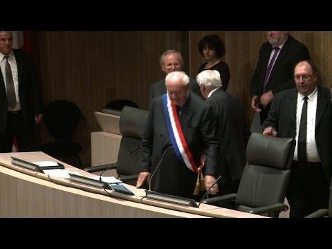 Gaudin formellement réélu maire de Marseille, pour la 4e fois