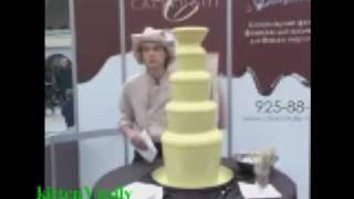 3 Шоколадный фестиваль в Москве. Белый шоколадный фонтан(, 2009-01-04T20:47:47.000Z)