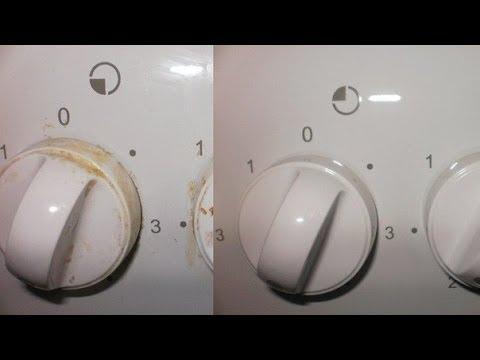 Как очистить ручки у газовой плиты? (2 Способа) Экономно и просто!