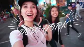 MiLAの旅日記in NY with ベイカー恵利沙&中田みのりん! PART1