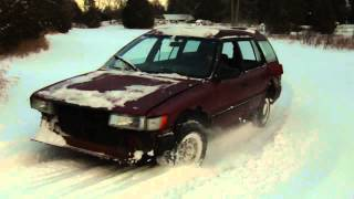 1988 Toyota Corolla Wagon 4x4 cold start/drive