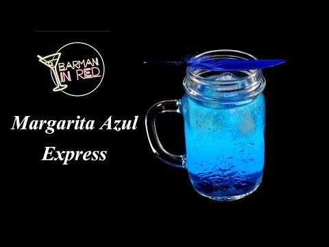 COCTEL MARGARITA AZUL EXPRESS