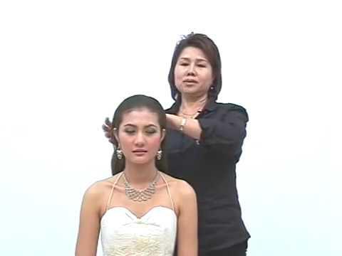 wedding hairstyle1 อ,บุบผา จำปา