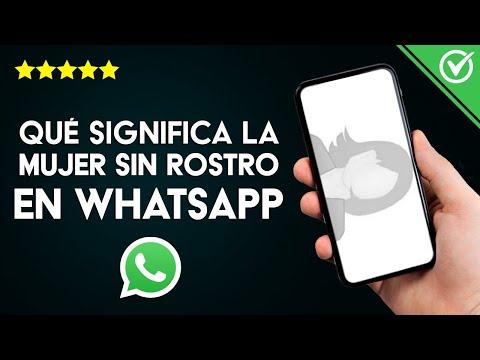 Qué Significa la Mujer sin Rostro de WhatsApp y por qué es tan Popular