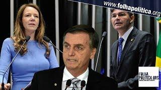 Vanessa Grazziotin ataca Bolsonaro com baixarias e é obrigada a