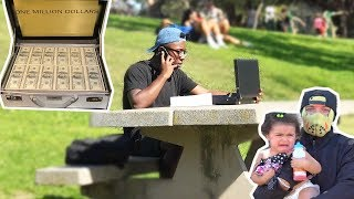"""$1 Million VS One Life - """"What Would You Choose?"""" (Social Experiment)"""