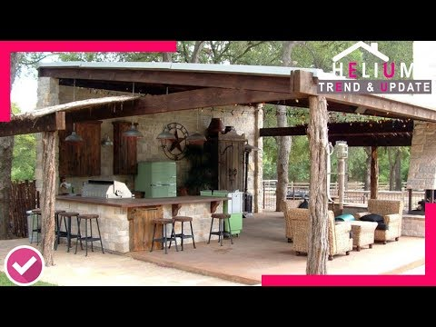 BEST COLLECTION!!! 40+ Rustic Outdoor Kitchen Ideas That You May Have Never Seen Before  - HELIUM