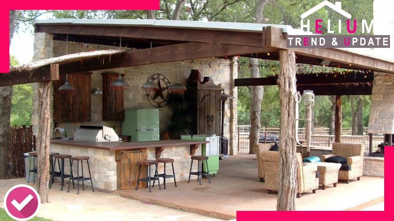 Rustic Outdoor Kitchen Ideas That You