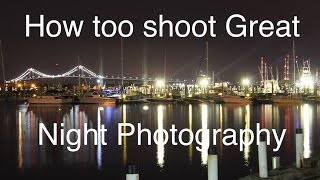 How To Take Photos In The Dark