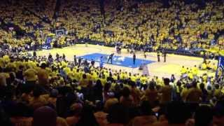 Golden State Warriors Halftime Show | Game 4 Nba Playoffs | Olate Dogs 04/28/13