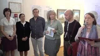 Открытие выставки картин Шавката Абдусаламова в городе Иваново