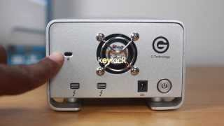 G RAID 8TB HD with Thunderbolt unboxing.