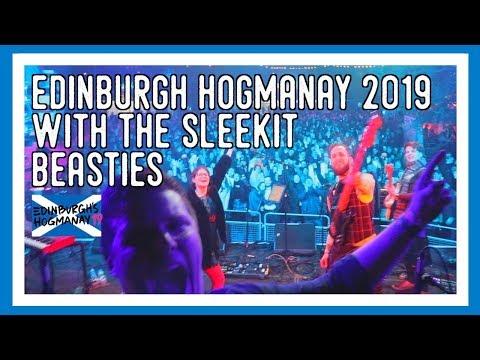 EDINBURGH HOGMANAY 2019 🎉Sleekit Beasties CEILIDH Under The Castle