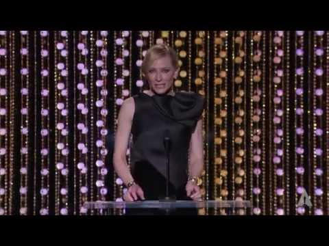 Cate Blanchett honors Gena Rowlands at the 2015 Governors Awards