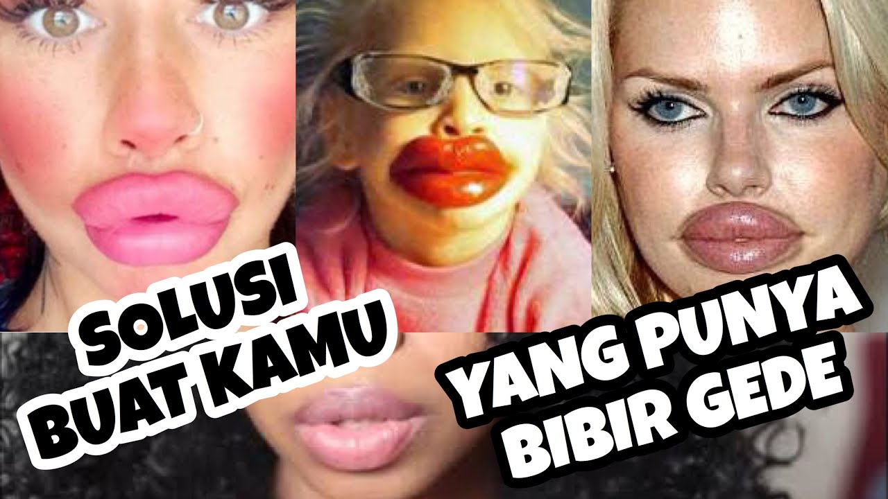 Tips Buat Kamu Yang Punya Bibir Tebal Lipstick Tutorial Ari Izam Youtube