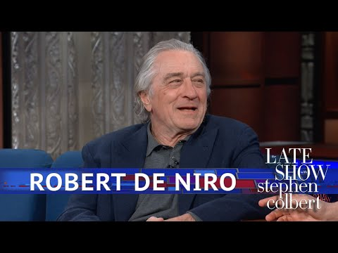 'The Late With Show With Stephen Colbert' Puts Robert De Niro Under Analysis – Deadline