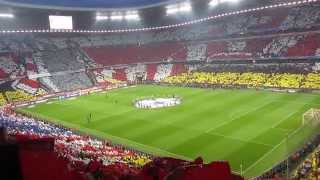 Bayern vs. Madrid (29.04.2014) - Komplette Choreographie [Full HD]