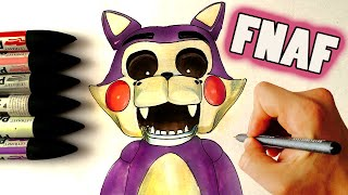 CANDYCAT ✎ FNAF ✎ HOW TO DRAW