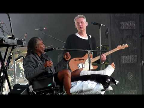 Massive Attack & Horace Andy  Angel  Hyde Park, London  July 2016