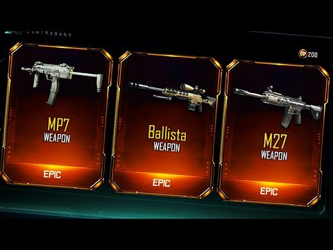 """NEW DLC WEAPONS COMING SOON? NEW """"DLC CONTENT"""" IN THE BLACK OPS 3 JULY CONTRABAND (bo3 dlc)"""