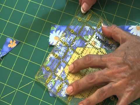 Fons Amp Porter Sew Easy Log Cabin Hexagons Youtube