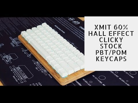XMIT 60% Typing Sounds (Hall Effect Clicky)
