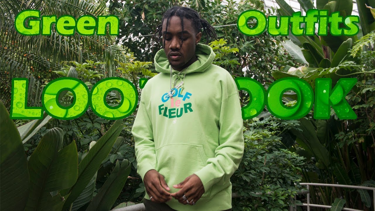 [VIDEO] - Green Outfits | Men's Fashion Lookbook ( Spring Fashion 2018) 5