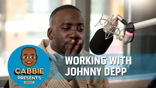 Shamier Anderson On Working With Johnny Depp on Cabbie Presents Podcast