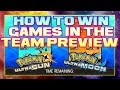 How to win games in the Team Preview -  Pokemon VGC 2019 Discussion