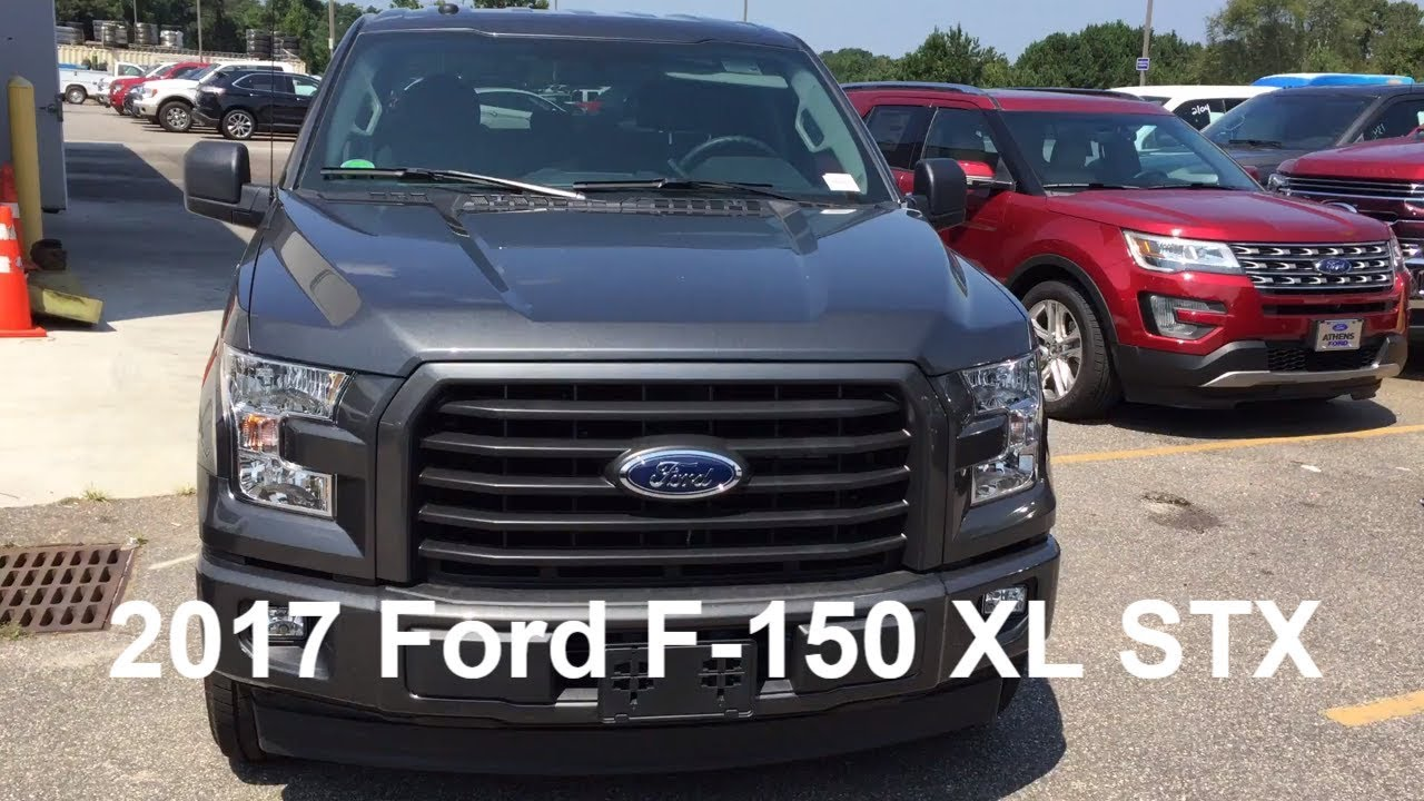2017 Ford F150 Xl Stx Exterior Walk Around And Interior 2 7l V6 Ecoboost Magnetic Metallic