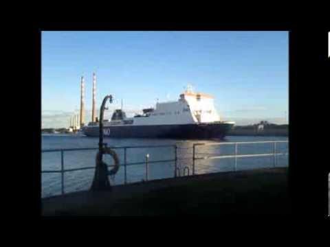 Ferries of Dublin Port & The Irish Sea 2013