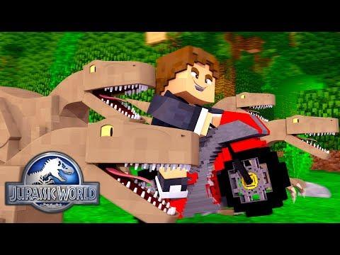 Download Youtube: Minecraft: ANDANDO DE MOTO COM DINOSSAUROS ! - JURASSIC WORLD  ‹ LOKI ›