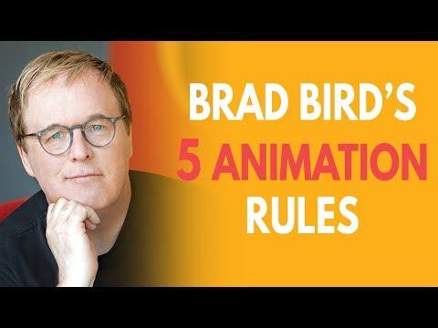 Brad Bird's 5 Rules for Animators