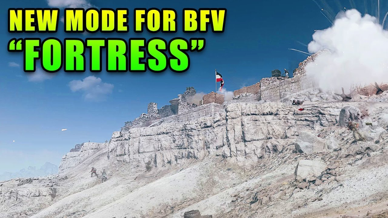 "New ""Fortress"" Mode For BFV — Review And Live Gameplay"