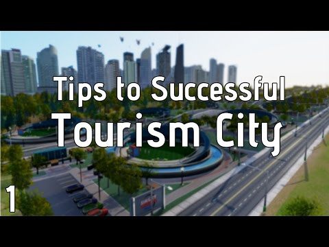 Simcity Tips for Tourism ► Part 1 ► Getting Started / Planning Layout