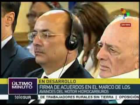 NOTICIERO BOLIVARIANA TELEVISION Venezuela suscribió acuerdos con empresa de la India