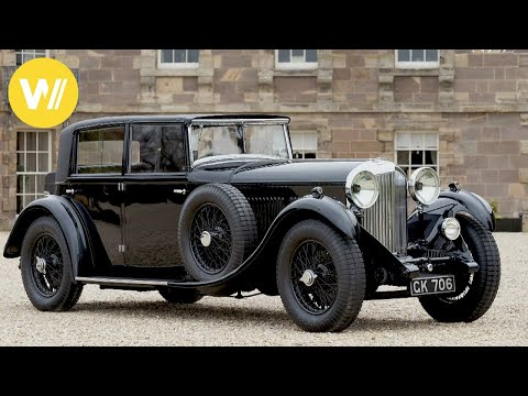 """Bentley 4½ Litre """"Blower"""" - Exclusive Classic Car that ran the 24 Hours of Le Mans"""