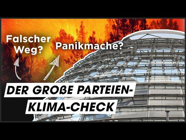 Welche Partei kämpft WIRKLICH gegen den Klimawandel?