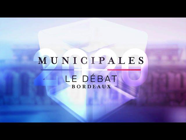 5ème débat des Municipales 2020 de Bordeaux