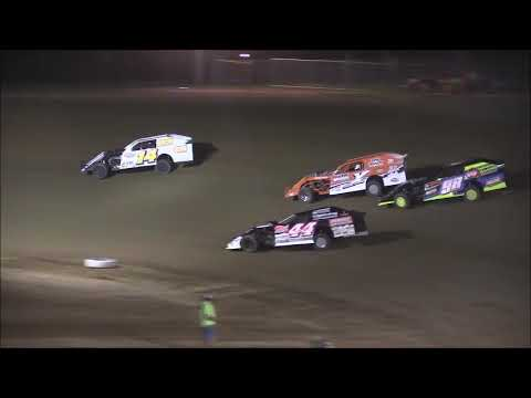Open Wheel Modified Feature from Atomic Speedway, August 2nd, 2018. - dirt track racing video image