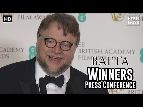 Guillermo del Toro Best Director BAFTA Press Conference  The Shape of Water