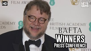 Guillermo del Toro Best Director BAFTA Press Conference - The Shape of Water