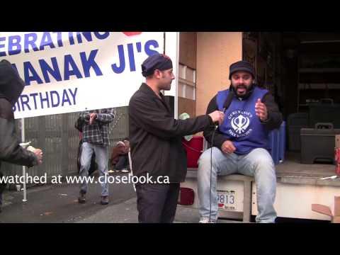 Close Look TV Show- Interview with Guru Nanak kitchen's coordinator Raman-www.closelook.ca