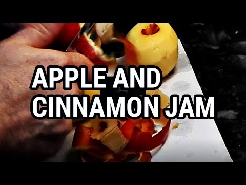 Apple & Cinnamon Jam - How to make a very fast apple jam