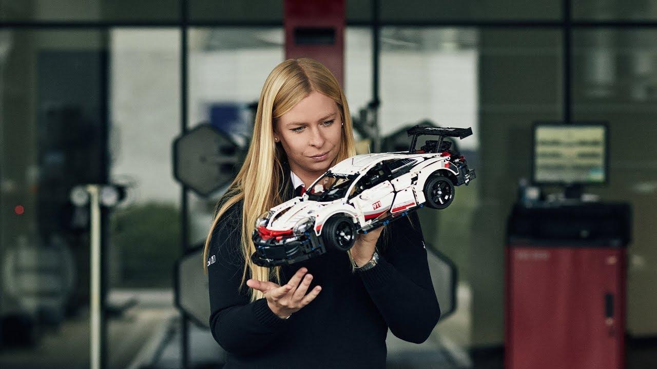 Camera Lego Driver : The lego technic porsche rsr tested by race driver christina
