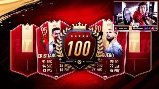 TOP 100 RED REWARDS! WE GOT HIM!! FIFA 19