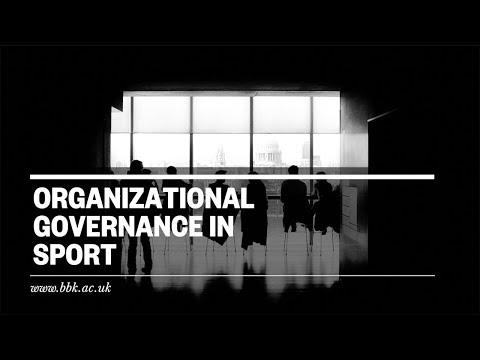 Organizational Governance In Sport | #BBKBusiness