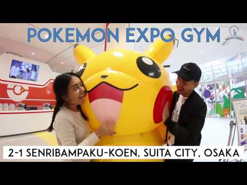World's first 'real-life' Pokemon Gym in Osaka!