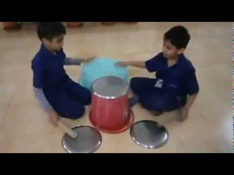 Indus world school indore grade IV air makes music
