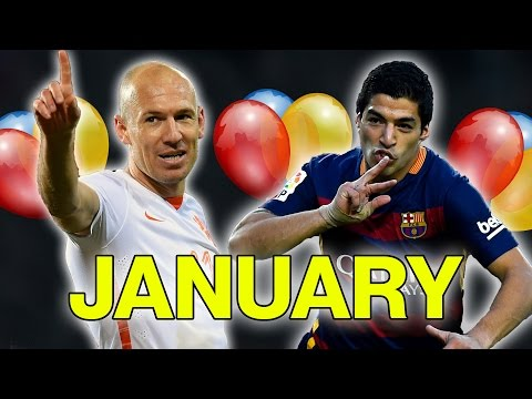 Which Football Star Do You Share A Birthday With? | January